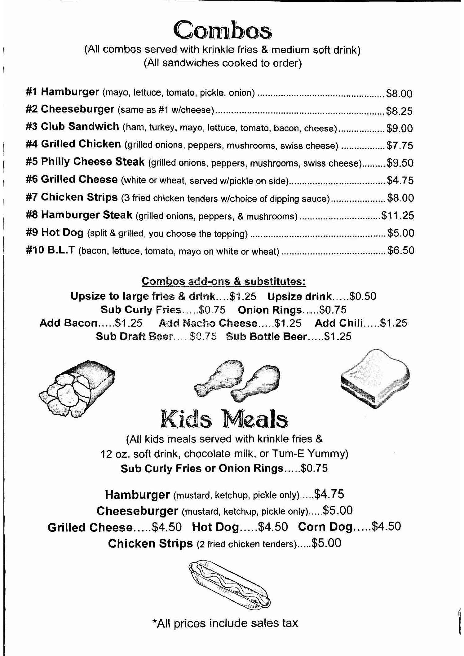 Food   Restaurant   Tullahoma Lanes   Tullahoma TN